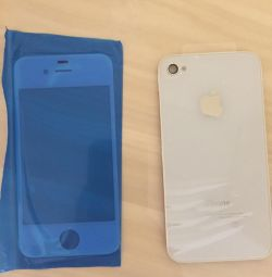 Glasses on both sides on iPhone 4c