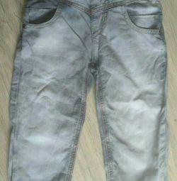 Серые джинсы легкие