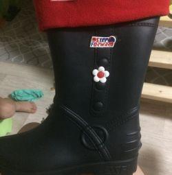 Καουτσούκ μπότες νέα θηλυκά