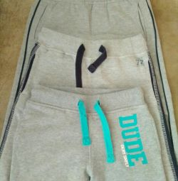Pantaloni sport (3buc)