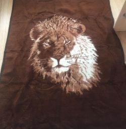 Double sided blanket, new