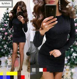 Φόρεμα στο απόθεμα μαύρο 44,46,48