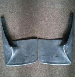 Universal rear mud flaps