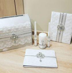 набір весільних аксесуарів