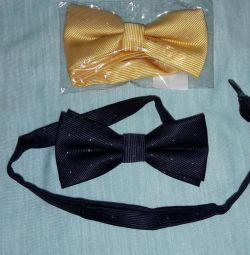 Бабочка галстук желтая , черная, синяя