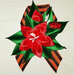 Gergiev ribbon brooch