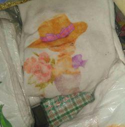 παιδική κουβέρτα με αγγέλους
