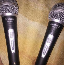 Микрофоны новые