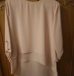 Ошатна офісна блуза бренду Roxelan (Туреччина)