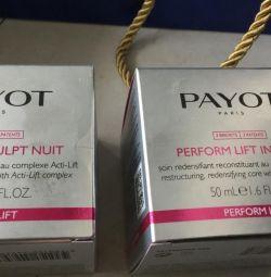 2 крема payot для увядающей кожи