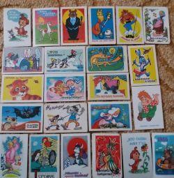 Календарики з СРСР