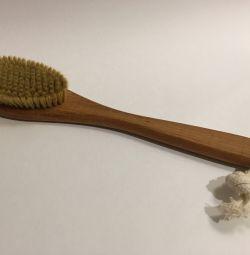 Kuru masaj için fırça
