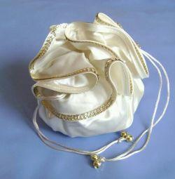 Handbag for the bride (wedding accessories)