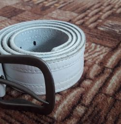 I will sell a new belt (genuine leather).