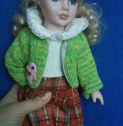 форфоровой лялька