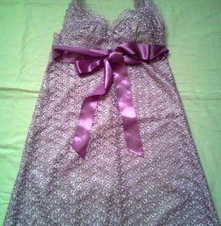 Φόρεμα λιλά 44-46
