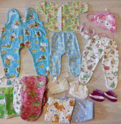 2 пакети одягу для лялі