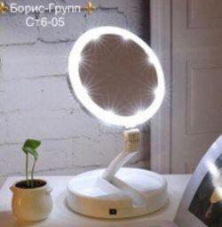 Mirror with illumination new