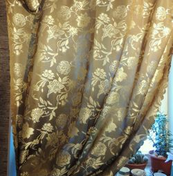 Heavy curtain for bedroom or kitchen
