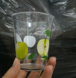 Склянки нові з акрилу