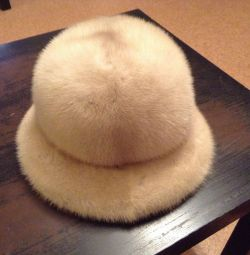 Women's mink hat