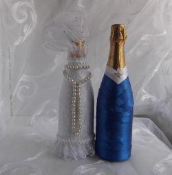 красивые бутылки на торжества