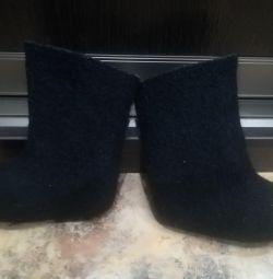 Pantofi cu incaltaminte de 13 cm