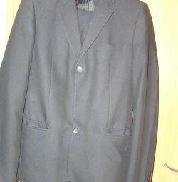 school suit + 3 shirts