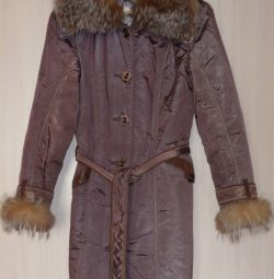 Куртка-пальто осінь-зима 2 в 1, р-44 (46)