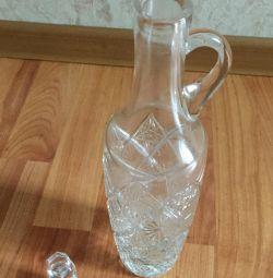 Decantor de cristal