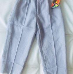 Новые брюки на 3-4 года