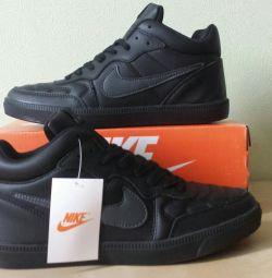 Кроссовки Nike Air Натуральная кожа
