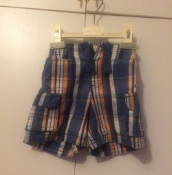 Denim shorts in excellent condition 1-1,5 years
