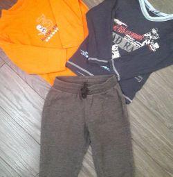 Pantaloni sport + bluză
