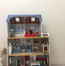 Casa de păpuși Amanda Family Imaginarium