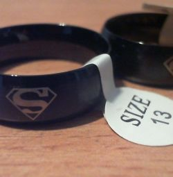 Superman inel chirurgicale noi din oțel