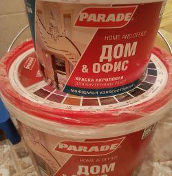Краска для стен (внутренние работы)