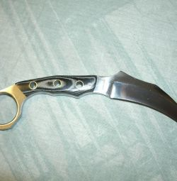 Μαχαίρι καραμπίτ χάλυβα 440
