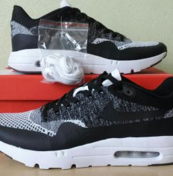 Кросівки Nike Air Max 90 Ultra 2.0 flyknit Нові