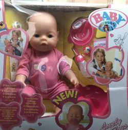Το μωρό αγαπά τις νέες κούκλες