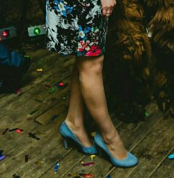 Cool μπλε παπούτσια