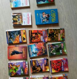 A set of books 16 pcs.