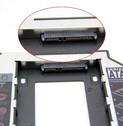 Glisați pentru laptop pentru a înlocui CD ROM-ul cu HDD