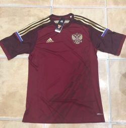 T-shirt of the Russian national football team Adidas
