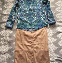 Bluza și fusta 46 dimensiune