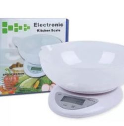 NEW kitchen electronic scales 5 kg