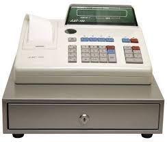 Кассовый аппарат АСМ 100К с денежным ящиком