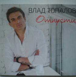 Autographed disk of Vlad Topalov