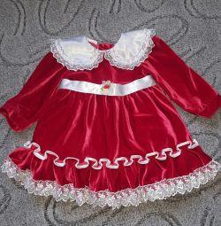 Μωρό φόρεμα για 3, 4 χρόνια
