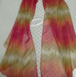 шарфик шелковый